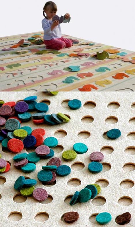 alfombra puzzle Alfombras infantiles interactivas Puzzle